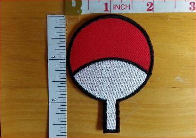 The Akatsuki Symbol #2 Naruto Ninja embroidered Iron on Patch