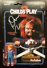Chucky Creator DON MANCINI SIGNED ReAction Figure Doll Toy