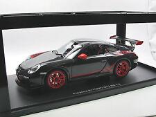 AUTOart 78141 - 2010 Porsche 911 (997) GT3 RS 3.8 grau / rot  1/18 OVP