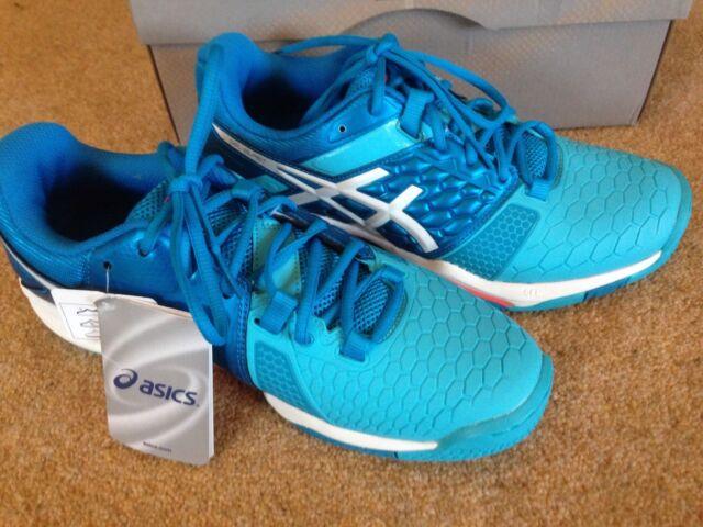 ASICS Womens Gel blast 7 W Handball Shoes Bluarancio 5 UK