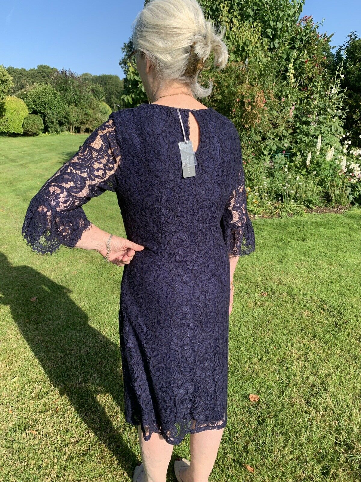 Mother Of The Bride/ Wedding Guest Gorgeous Lace Dress Size 14 NWT
