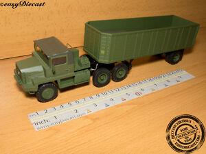 Berliet Tbc 8 Kt 1:43 Camion Truck & Trailer Altaya Ixo Semi Remorque
