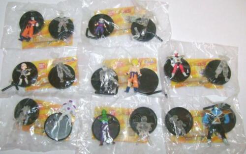 2011 Bandai Gashapon SET COMPLETO di 16 DRAGONBALL Z Collection GOKU vs FREEZER