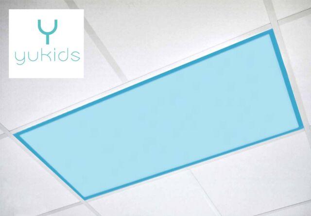 ShadeMAGIC Fluorescent Light Covers for Classroom Office Light Filter 4 pack