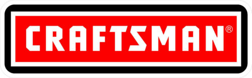 1 3.75 Craftsman Tools Saw Drill Decal Sticker Laminated! #3908