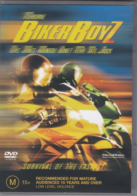 Biker Boyz - DVD (Regions 2 & 4 PAL)