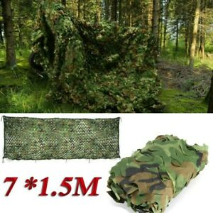 6 Größe Tarnnetz Camouflage Jagd Armee Tarnung Tarn Camo Woodland Netz Hunte