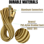 3-Pack-10Ft-Braided-Micro-USB-Phone-Charger-Charging-Cable-Data-Cord-For-Samsung miniature 4