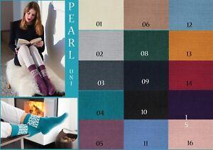 Sockenwolle-mit-Kaschmir-Strumpfwolle-Gruendl-Hot-Socks-Pearl-uni-50g-4-faedig
