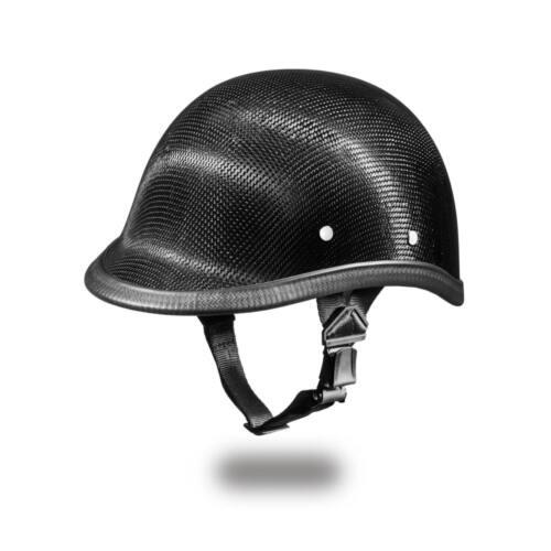Daytona Helmets Skull Cap HAWK-GREY CARBON FIBER Motorcycle Helmet 2003G