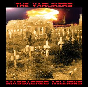 VARUKERS-039-Massacred-Millions-039-hardcore-UK-punk-CD-new-sealed-Fall-Out-Rat