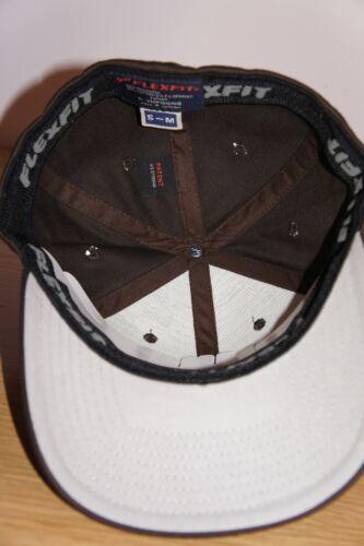 L S XL FLEXFIT PLAIN PEAK FITTED CLASSIC HATS NEW FLEXIFIT BASEBALL CAPS M