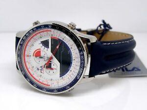 Dettagli su Fila da Uomo Silverstone Professionale Racing Orologio Cronografo