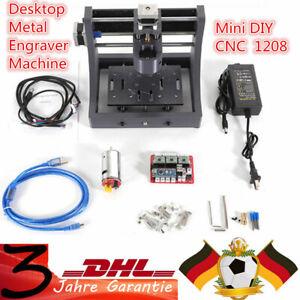 CNC-1208-USB-Fraese-Router-Engraver-Desktop-Graviermaschine-Fraesmaschine-Mill-DE