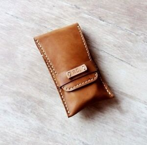 Leather-pouch-watch-Travel-watch-roll-Watch-storage-Leather-watch-case-gift
