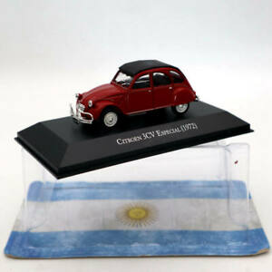 IXO-Altaya-Citroen-3CV-Especial-1972-Red-1-43-Diecast-Models-Limited-Edition