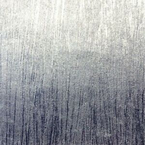 Crown Lustre Texture Silver Foil Metallic Wallpaper Sample