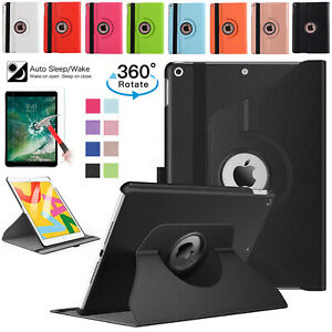 Leather-Stand-360-Rotate-Smart-Case-For-Apple-iPad-2-3-4-10-2-Mini-Air-Pro-10-5