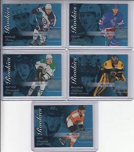 15-16-Fleer-Showcase-Boston-Bruins-Malcolm-Subban-Blue-Ice-RC-Ltd-196-199