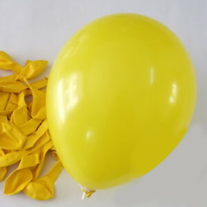 12-inch-100x-Yellow-Pearl-Latex-Thick-Party-Balloons-3-2g-Helium-Floating