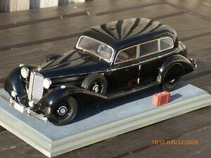 Raro-Groser-Mercedes-Benz-770K-firma-1-18-1938-Juguete-De-Coleccion-Coche-Modelo-Antiguo
