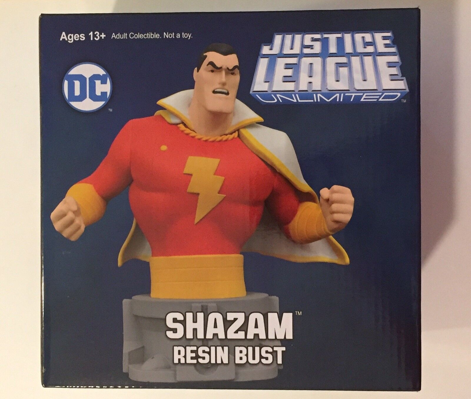 Justice League Unlimited Shazam Animated Style Mini Bust Diamond Select 42 3000