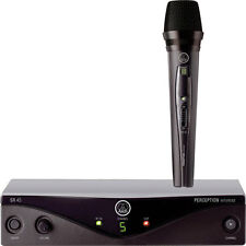 AKG Perception Wireless Vocal Set Band A (SR45 Receiver & HT45 Mic) New