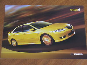 Image Is Loading 2003 Mazda 6 Original Australian Features Specifications  And