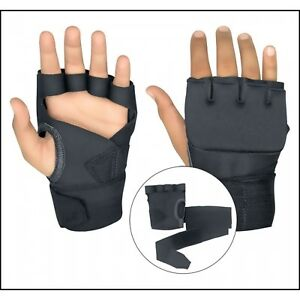 Gel-Inner-Gloves-With-Wrist-Hand-Wraps-Padded-Foam-MMA-Boxing-Muay-Thai-Bandages