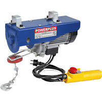 Elektrischer Seilzug Pow 200/400 Kg, Elektroseilwinde, 230 Volt