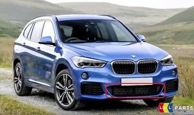 BMW GENUINE X1 SERIES F48 M SPORT FRONT BUMPER LOWER GRID GRILLE SET LEFT RIGHT