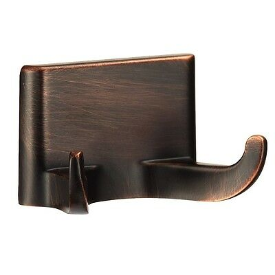 Oil Rubbed Bronze Double Robe Hook Bathroom Hardware Bath Accessory