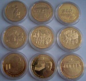 200 Jahre Brandenburger Tor Berlin Medaille Münze Goldmünze