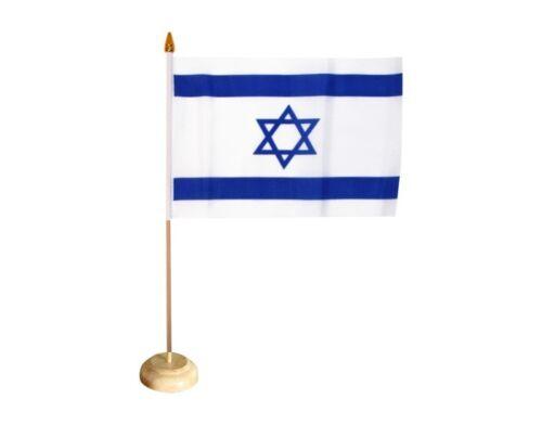 Tischflagge Israel israelische Tischfahne 15x22cm