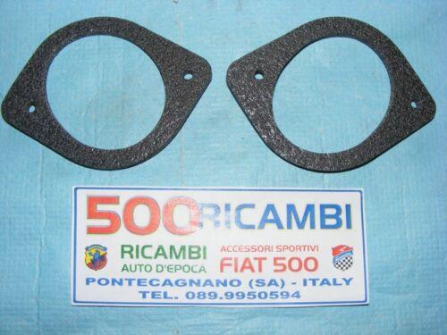 FIAT 500 D//F//L//R COPPIA GUARNIZIONE BOCCHETTA RISCALDAMENTO INTERNO ABITACOLO