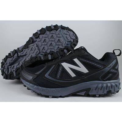 NEW BALANCE 410 WIDE 4E EEEE BLACK/BLUE GRAY TRAIL RUNNING HIKING MT410LB5 MENS