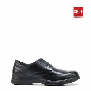 Hush Puppies TORPEDO Black Mens Lace-up Dress/Formal Leather Shoes