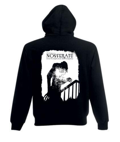 Hoodie Nosferatu Classic Vampire Horror Movie T Shirt