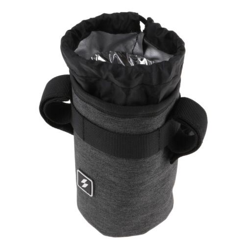 Set of 2 Cycling Handlebar Kettle Bag Handlebar Stem Pouch Bicycle Accessory