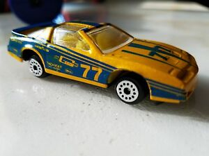 1986 pontiac firebird trans am 77 zee dyna wheels yellow w blue graphics t tops ebay details about 1986 pontiac firebird trans am 77 zee dyna wheels yellow w blue graphics t tops