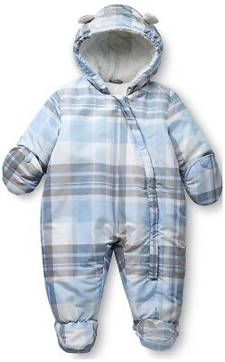 Child Of Mine By Carter/'s Infant Boys Blue Pram Size 0//3M 3//6M 6//9M