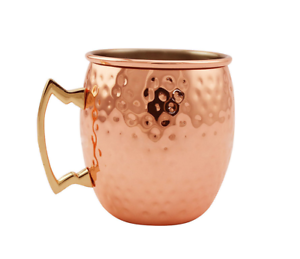 Details about 100% Pure Copper Hammered Moscow Mule Mug Gift Weight Loss  Ayurveda digestion