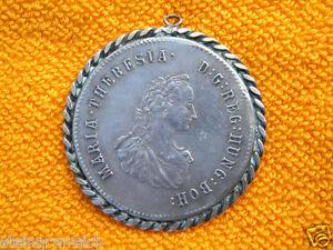 Maria Theresia 1760 Bezeichnet Münze Medaille Anhänger