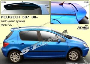 SPOILER REAR ROOF PEUGEOT 307 WING ACCESSORIES | eBay