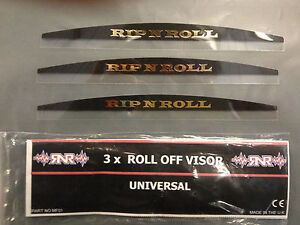 100/% Rip N Roll TVS Total Vision MX Motocross Goggle Roll Off System
