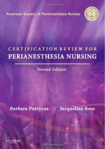 aspan perianesthesia certification nursing