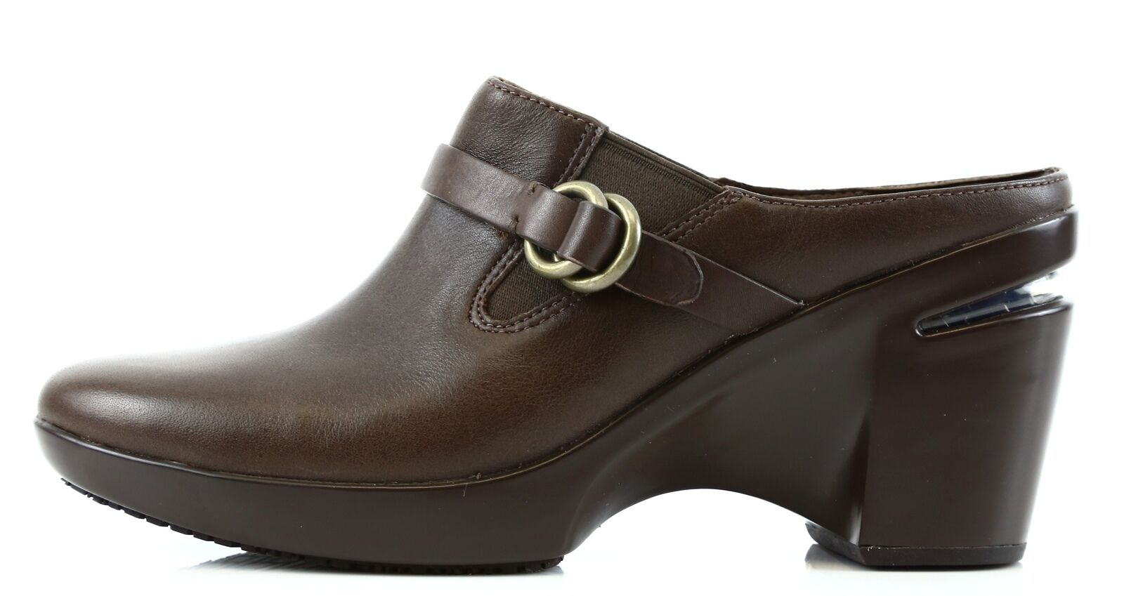 Cole Haan Shelly femmes marron Leather Clog Sz 6 6 6 8188 479098