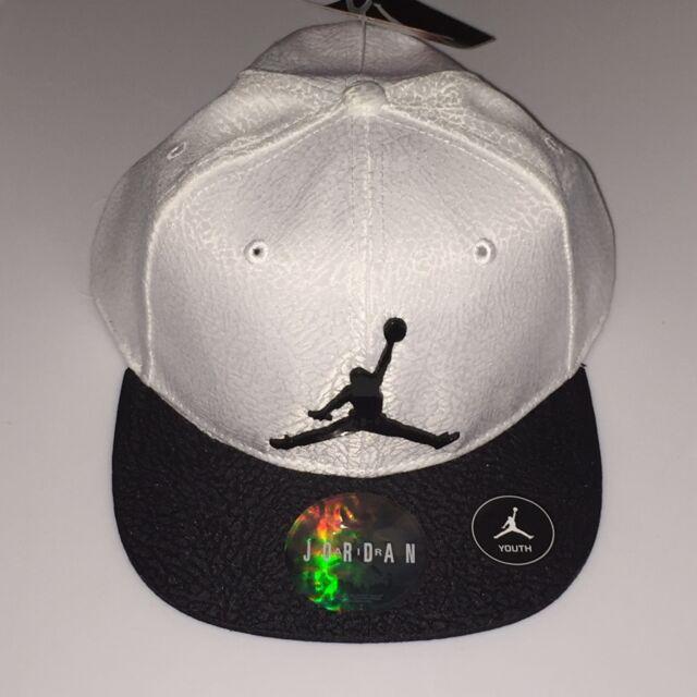 8ba79dddfd4 Boys Jordan Elephant Print Hat Snapback Size 8 - 20 Youth White for ...