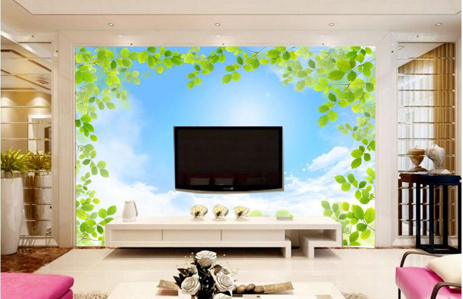 3D Grüner Himmel 732 Fototapeten Wandbild Fototapete BildTapete Familie DE Kyra