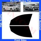 Pellicola Oscurante Vetri Auto Anteriori per Audi A4 5P SW 2008-2014 da 5% a 70%